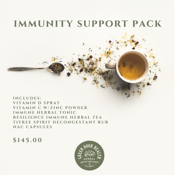 Immune Support Pack available online from Green Door Health